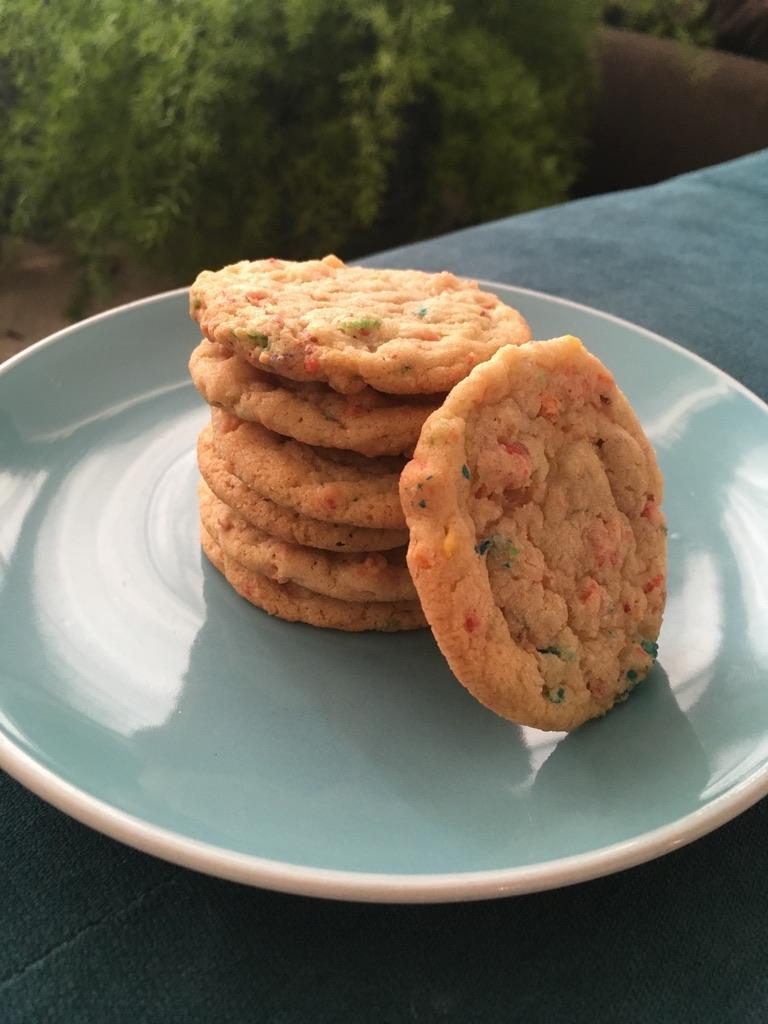 Fruit Pebble Sugar Cookies